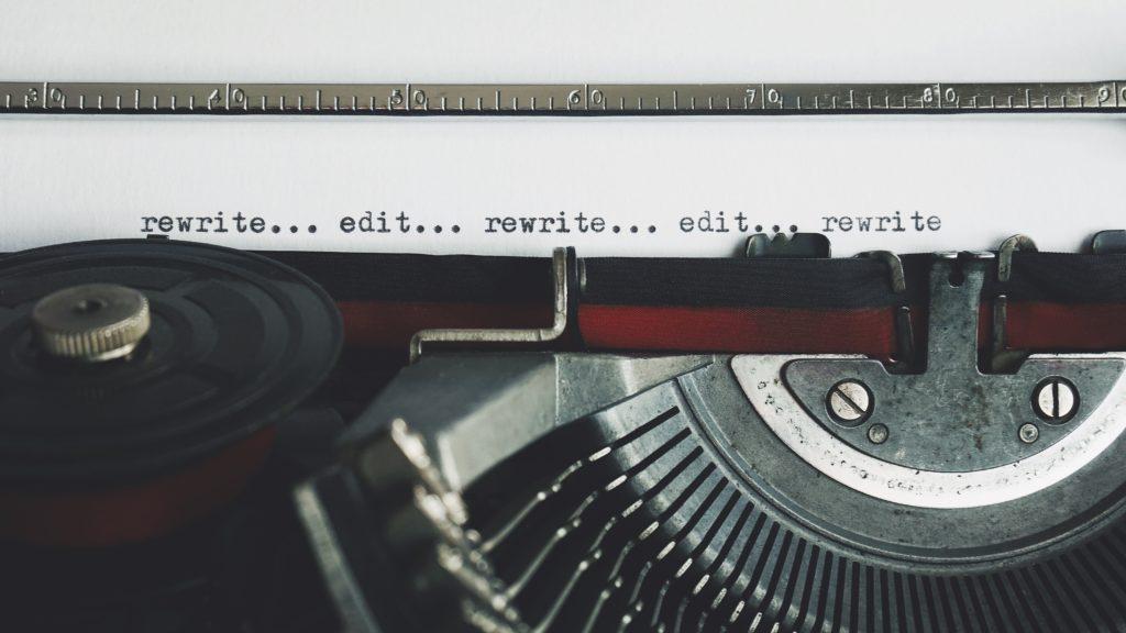 Corriger un roman : retravailler le texte
